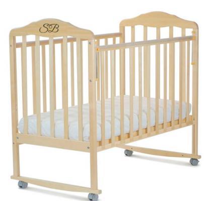 Кроватка-качалка Sweet Baby Lorenzo (betulla/береза)