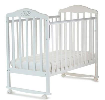 Кроватка-качалка Sweet Baby Lorenzo (bianco/белый)