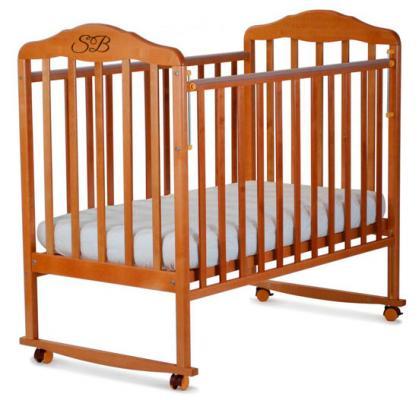 Кроватка-качалка Sweet Baby Lorenzo (faggio naturale/бук натуральный)