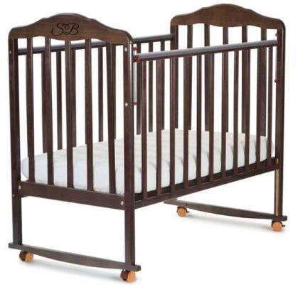Кроватка-качалка Sweet Baby Lorenzo (wenge/венге)