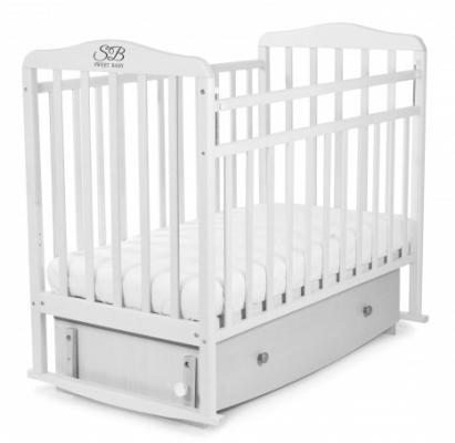 Кроватка с маятником Sweet Baby Luciano (bianco/белый)