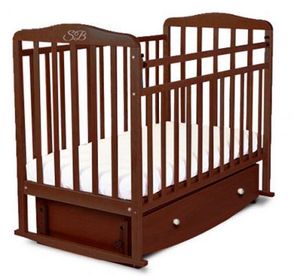 Кроватка с маятником Sweet Baby Luciano (wenge/венге)