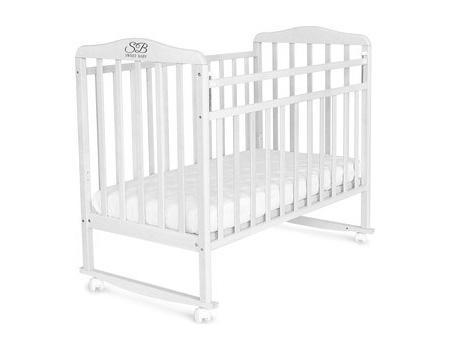 Кроватка-качалка Sweet Baby Mario Bianco (Белый)
