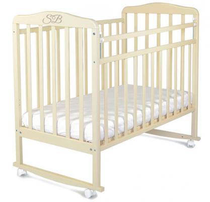 Кроватка-качалка Sweet Baby Mario Cammello (Бежевый)