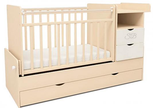 Кровать-трансформер Sweet Baby Valentino (avorio bianco/слоновая кость+белый)