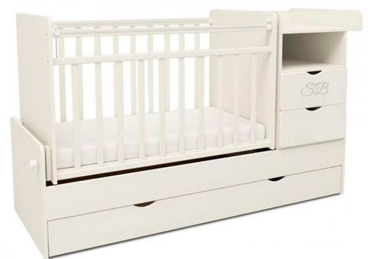 Кровать-трансформер Sweet Baby Valentino (bianco/белый)