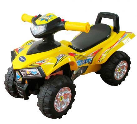 Каталка-машинка Sweet Baby ATV желтый от 1 года пластик