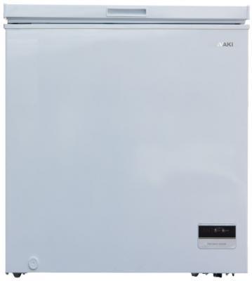 Морозильный ларь SHIVAKI CF-1501DW белый морозильный ларь whirlpool whm 3111 белый