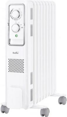 Масляный радиатор BALLU Style BOH/ST-05W 1000 Вт ручка для переноски термостат белый
