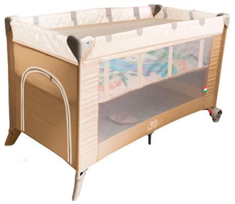 Манеж-кровать 5-в-1 Sweet Baby Intelletto (beige)