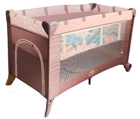 Манеж-кровать 5-в-1 Sweet Baby Intelletto (cacao)