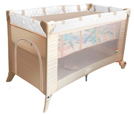 Манеж-кровать 5-в-1 Sweet Baby Intelletto (crema)