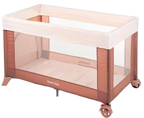 Манеж-кровать Sweet Baby Mantellina (cacao)