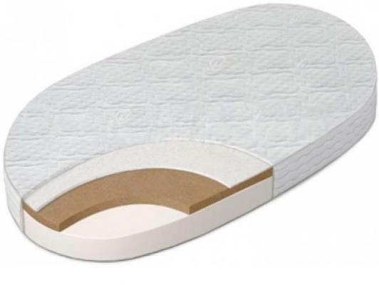 Матрас в кроватку овальный 125x75см Sweet Baby Cocos Comfort