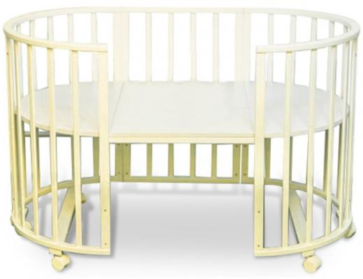 Кроватка без маятника Sweet Baby Delizia (avorio/слоновая кость)