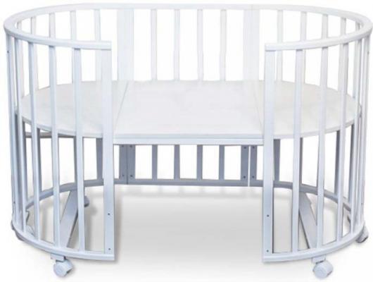 Кроватка без маятника Sweet Baby Delizia (bianco/белый)