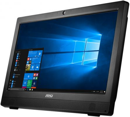 "Моноблок 23.6"" MSI Pro 24 7M-049RU 1920 x 1080 Intel Pentium-G4400 4Gb 1Tb Intel HD Graphics 510 DOS черный 9S6-AE9311-049"