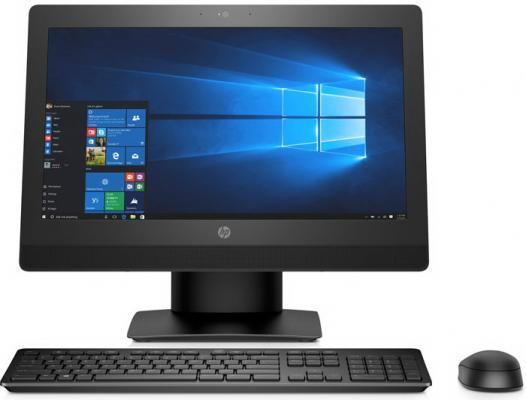 """Моноблок 20"""" HP ProOne 400 G3 1600 x 900 Intel Core i3-7100T 4Gb 1Tb Intel HD Graphics 630 Windows 10 Home черный 2RT93ES"""