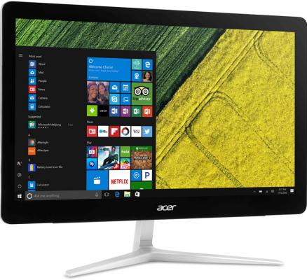 Моноблок 23.8 Acer Aspire Z24-880 1920 x 1080 Intel Core i3-7100T 4Gb 1Tb nVidia GeForce GT 940МХ 2048 Мб Windows 10 черный DQ.B8TER.001