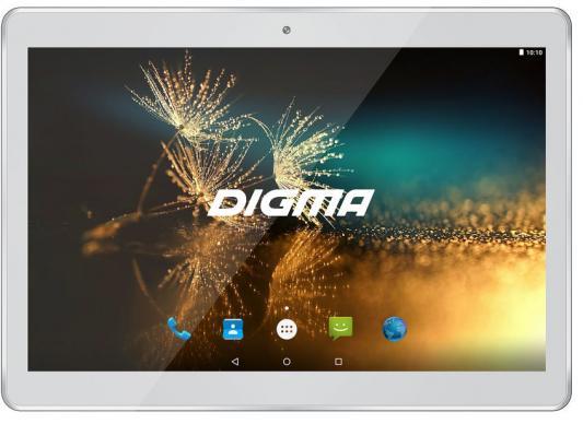 "Планшет Digma Plane 1525 3G 10.1"" 16Gb белый Wi-Fi 3G Bluetooth Android PS1137MG"