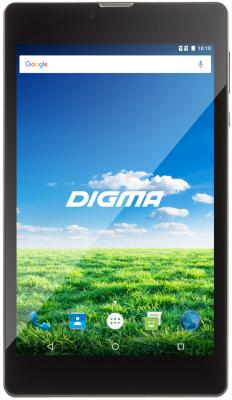 "Планшет Digma Plane 7700T 7"" 8Gb черный Wi-Fi 3G Bluetooth LTE Android PS1127PL цена и фото"