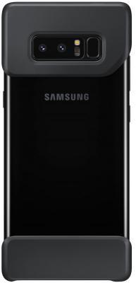 Чехол Samsung EF-MN950CBEGRU для Samsung Galaxy Note 8 2Piece Cover Great черный чехол для смартфона samsung galaxy note 8 clear cover great черный ef qn950cbegru ef qn950cbegru