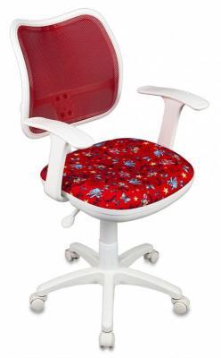 Кресло детское Бюрократ CH-W797/RD/ANCHOR-RD спинка сетка красный сиденье красный якоря