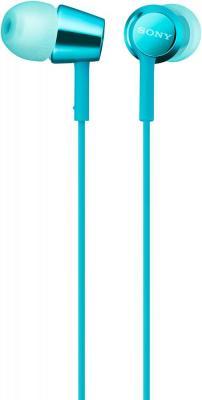Наушники SONY MDR-EX155 голубой