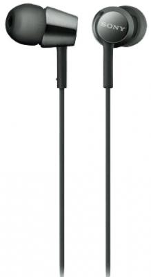 Наушники SONY MDR-EX155 черный sony nwz b152
