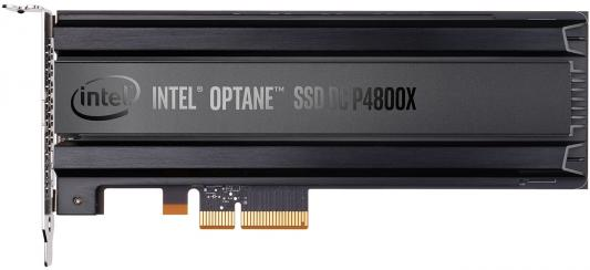 Твердотельный накопитель SSD PCI-E 375Gb Intel P4800X Series Read 2400Mb/s Write 2000Mb/s SSDPED1K375GA01 953028 твердотельный накопитель ssd pci e 2tb intel p4510 series read 3200mb s write 2000mb s ssdpe2kx020t801 959393