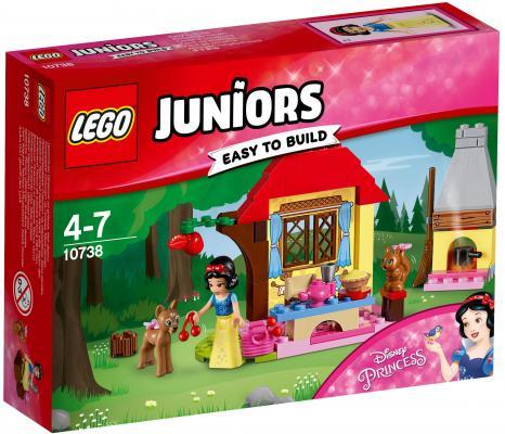 Конструктор LEGO Juniors: Лесной домик Белоснежки 67 элементов 10738