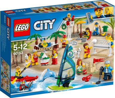 Конструктор LEGO Отдых на пляже 60153 169 элементов lego city 60153 лего город отдых на пляже жители lego city
