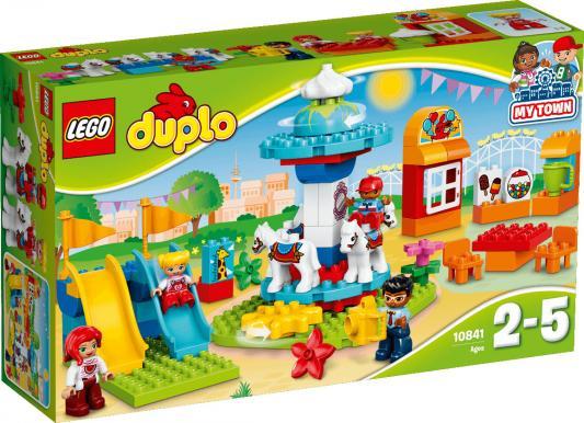 Конструктор LEGO Семейный парк аттракционов 10841 61 элемент