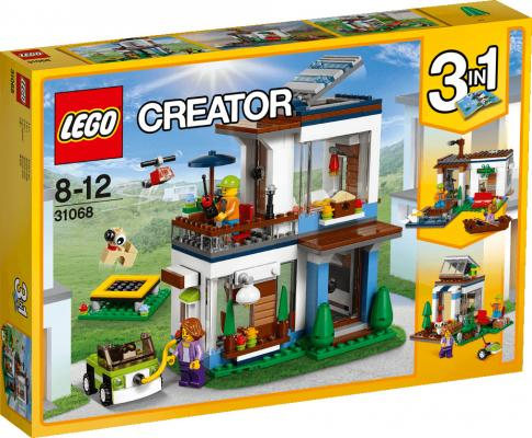 Конструктор LEGO Современный дом 31068 386 элементов ирина глебова дом окнами на луг и звёзды