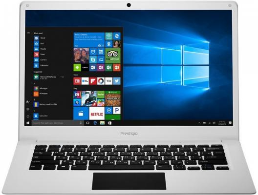 Ноутбук Prestigio Smartbook 141C 14.1 1920x1080 Intel Atom-x5-Z8350 PSB141C01BFH_WH_CIS ноутбуки prestigio ноутбук prestigio smartbook 141c black