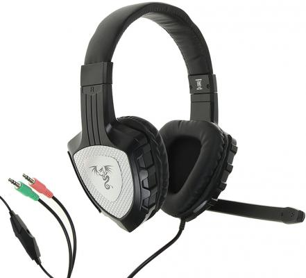 Гарнитура QUMO Champion GHS 0001 черный gaming headset qumo champion ghs 0001