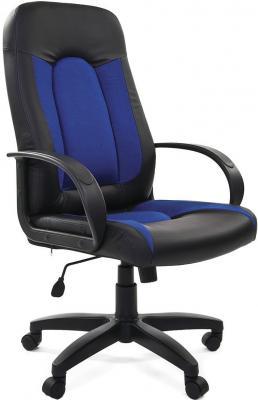 Кресло Chairman 429 Россия черный синий 7007485