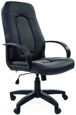 Кресло Chairman 429 Россия черный серый 7007095