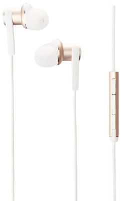 Наушники Xiaomi Mi In-Ear Headphones Pro золотистый ZBW4335IN наушники xiaomi mi in ear headphones basic синий