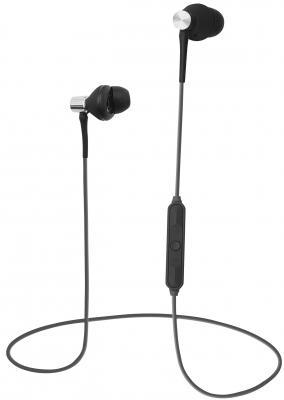 лучшая цена Гарнитура QUMO Freedom Style Mini BT-0011 серый черный