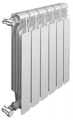 Радиатор Sira Alice 350 х 6 секций SFAB035006XX алюминиевый радиатор sira rovall80 350 6 секций