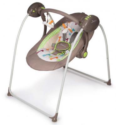 Качели электронные Jetem OnDa (brown) jetem электронные качели для новорожденных jetem breeze