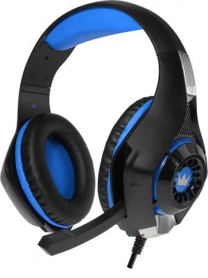 Гарнитура Crown CMGH-101T Blue черный синий цены онлайн