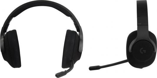 Игровая гарнитура проводная Logitech G433 черный 981-000668