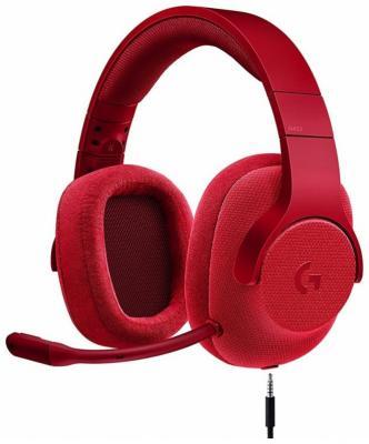 Гарнитура Logitech G433 (981-000652) красный