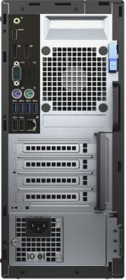 Системный блок DELL Optiplex 7050 MT i7-6700 3.4GHz 16Gb 512Gb SSD R7 450-4Gb DVD-RW Linux клавиатура мышь черный/серебристый 7050-8239
