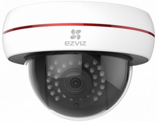 "Видеокамера EZVIZ CS-CV220-A0-52EFR CMOS 1/2.7"" 4 мм 1920 x 1080 H.264 RJ-45 LAN PoE белый"