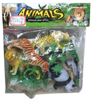 Игровой набор Shantou Gepai Дикие животные 635670 9 см в ассортименте набор фигурок shantou gepai домашние животные 4 см 866 c31