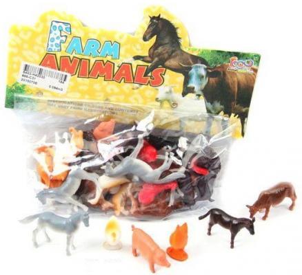 Набор фигурок Shantou Gepai Домашние животные 4 см farm animals
