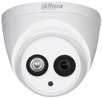 """Камера IP Dahua DH-IPC-HDW4830EMP-AS-0400B CMOS 1/2.5"""" 4 мм 3840 x 2160 H.264 Н.265 H.264+ H.265+ RJ-45 LAN PoE белый"""